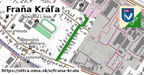 Fraňa Kráľa, Nitra