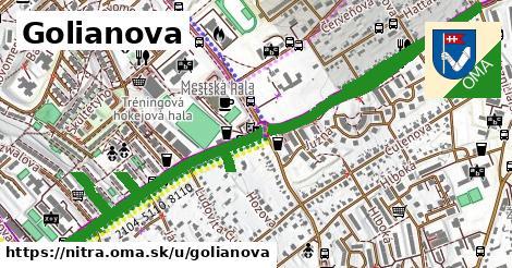 ilustrácia k Golianova, Nitra - 2,0km
