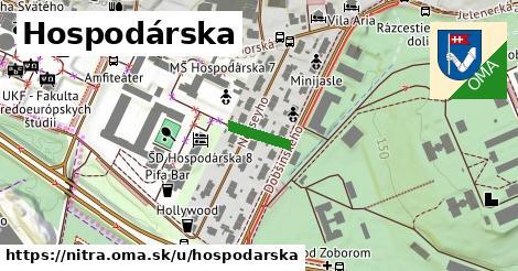 ilustrácia k Hospodárska, Nitra - 95m
