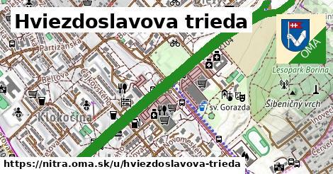 Hviezdoslavova trieda, Nitra