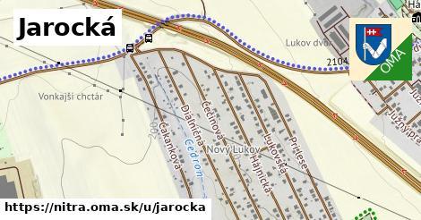 Jarocká, Nitra