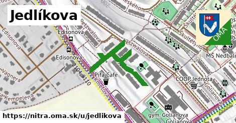 ilustrácia k Jedlíkova, Nitra - 365m