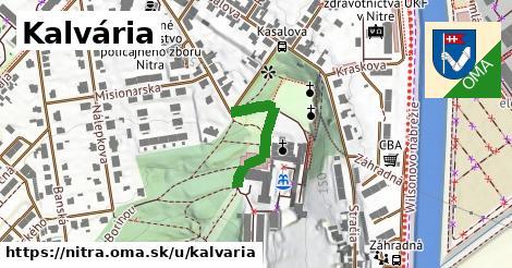 ilustrácia k Kalvária, Nitra - 202m