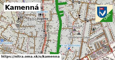 ilustrácia k Kamenná, Nitra - 1,51km