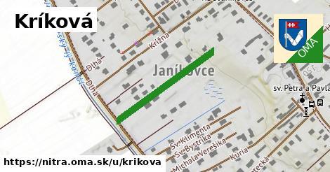 ilustrácia k Kríková, Nitra - 272m