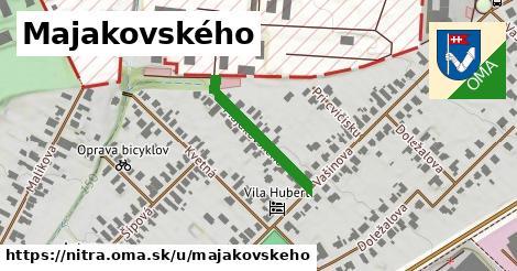 ilustrácia k Majakovského, Nitra - 215m