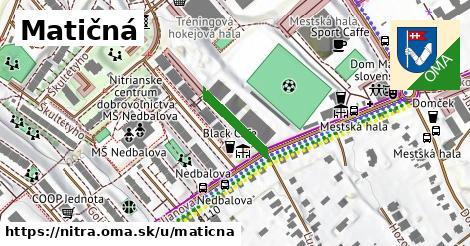 ilustrácia k Matičná, Nitra - 134m