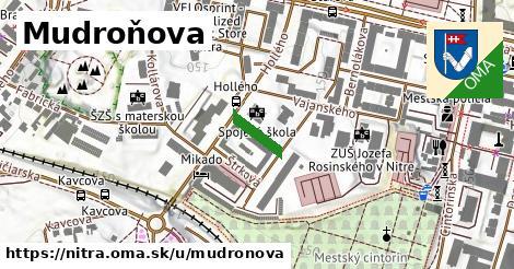 ilustrácia k Mudroňova, Nitra - 88m