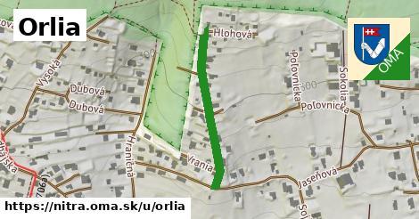 ilustrácia k Orlia, Nitra - 288m