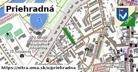 ilustrácia k Priehradná, Nitra - 108m