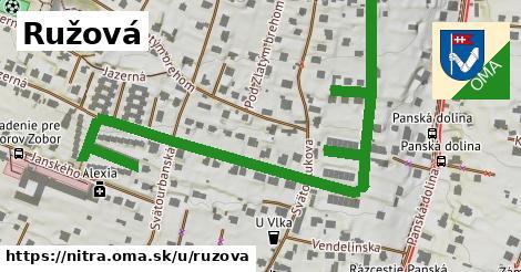 ilustrácia k Ružová, Nitra - 0,94km