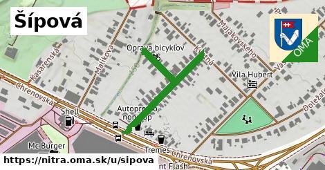 ilustrácia k Šípová, Nitra - 352m