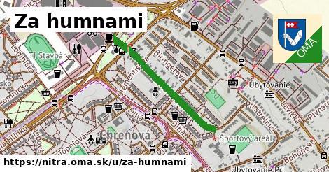 ilustrácia k Za humnami, Nitra - 620m