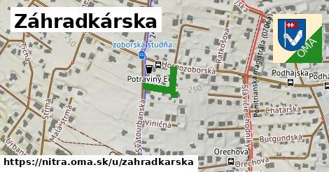 ilustrácia k Záhradkárska, Nitra - 143m