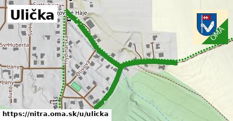ilustrácia k Ulička, Nitra - 300m