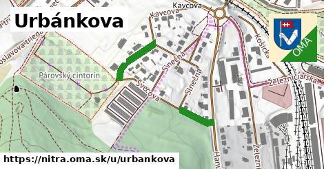 ilustrácia k Urbánkova, Nitra - 211m
