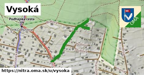 ilustrácia k Vysoká, Nitra - 346m