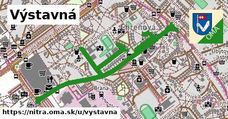 ilustračný obrázok k Výstavná, Nitra