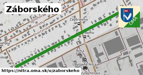 ilustrácia k Záborského, Nitra - 663m