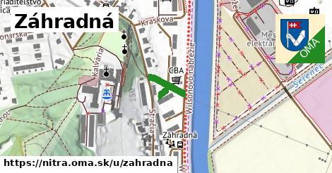ilustrácia k Záhradná, Nitra - 127m