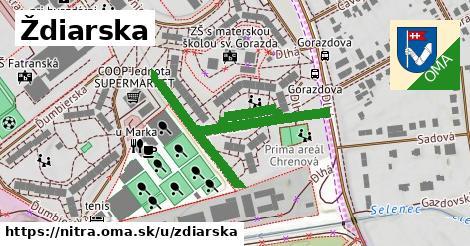 ilustrácia k Ždiarska, Nitra - 549m