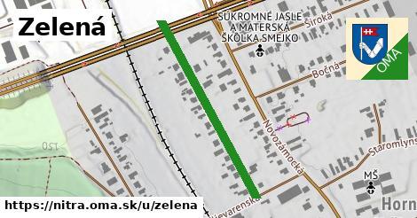 ilustrácia k Zelená, Nitra - 361m