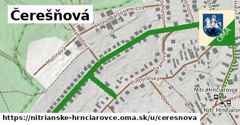 ilustrácia k Čerešňová, Nitrianske Hrnčiarovce - 665m