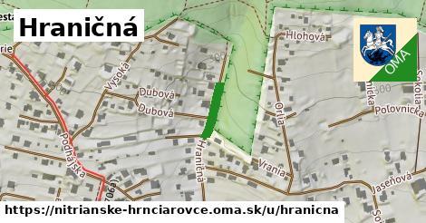 ilustrácia k Hraničná, Nitrianske Hrnčiarovce - 178m