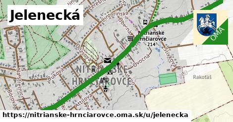 ilustrácia k Jelenecká, Nitrianske Hrnčiarovce - 2,0km