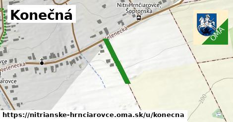 ilustrácia k Konečná, Nitrianske Hrnčiarovce - 162m