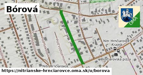 ilustrácia k Bórová, Nitrianske Hrnčiarovce - 307m