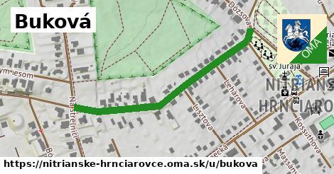 ilustrácia k Buková, Nitrianske Hrnčiarovce - 463m