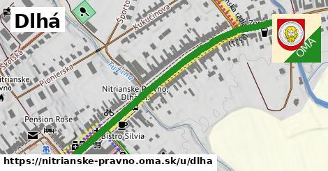 ilustrácia k Dlhá, Nitrianske Pravno - 660m