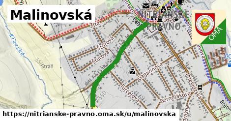 ilustrácia k Malinovská, Nitrianske Pravno - 662m