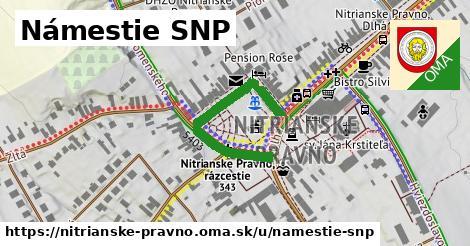 ilustrácia k Námestie SNP, Nitrianske Pravno - 325m
