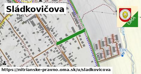 ilustrácia k Sládkovičova, Nitrianske Pravno - 163m
