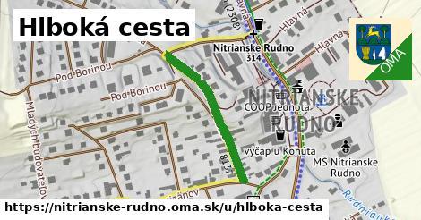 ilustrácia k Hlboká cesta, Nitrianske Rudno - 270m