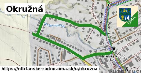 ilustrácia k Okružná, Nitrianske Rudno - 0,92km