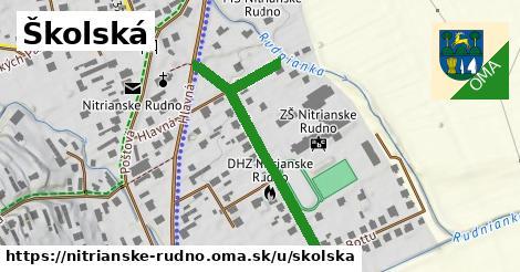 ilustrácia k Školská, Nitrianske Rudno - 494m