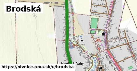 ilustrácia k Brodská, Nivnice - 1,02km