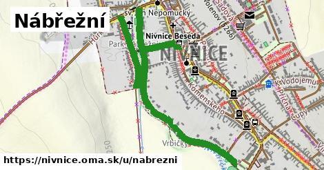 ilustrácia k Nábřežní, Nivnice - 1,44km