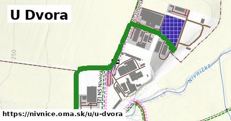 ilustrácia k U Dvora, Nivnice - 1,30km