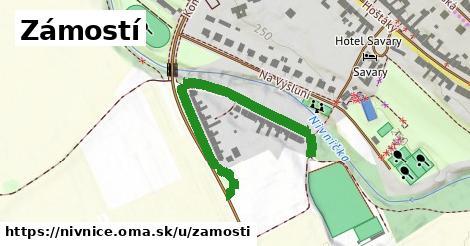 ilustrácia k Zámostí, Nivnice - 457m
