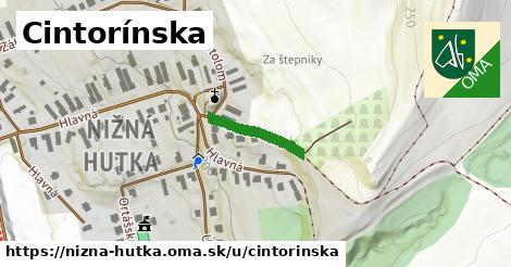 ilustrácia k Cintorínska, Nižná Hutka - 148m