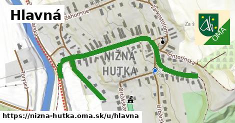 ilustrácia k Hlavná, Nižná Hutka - 0,72km