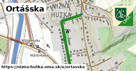 ilustrácia k Ortášska, Nižná Hutka - 388m