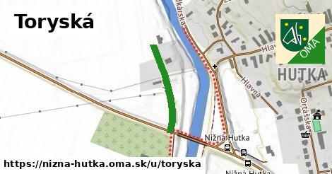 ilustrácia k Toryská, Nižná Hutka - 223m