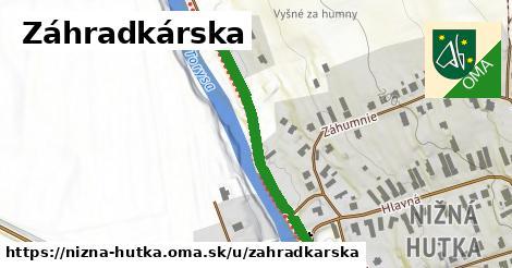 ilustrácia k Záhradkárska, Nižná Hutka - 372m