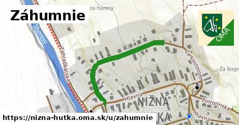 ilustrácia k Záhumnie, Nižná Hutka - 358m