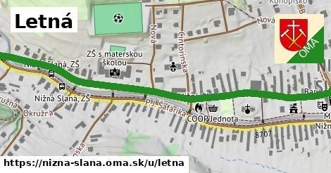 ilustrácia k Letná, Nižná Slaná - 0,74km